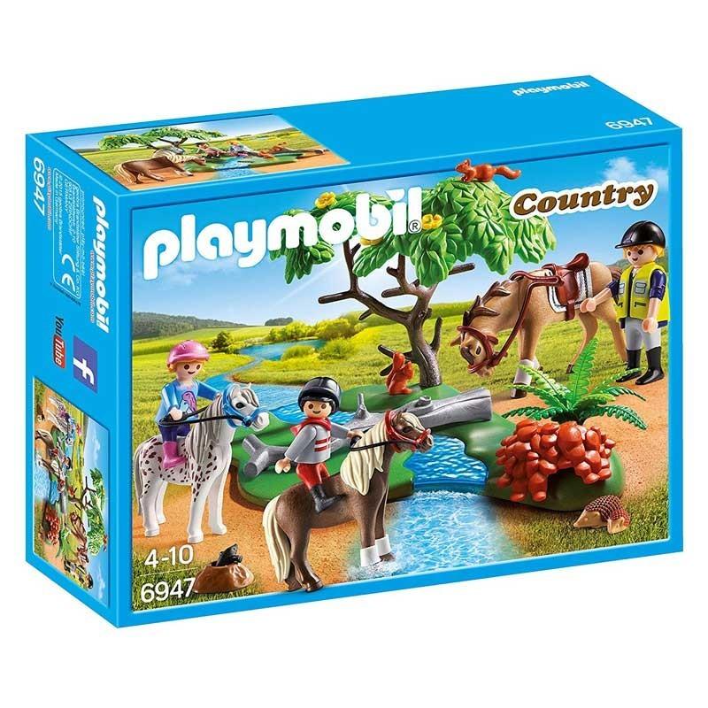 Playmobil 6947. Paseo de Ponis en el Campo
