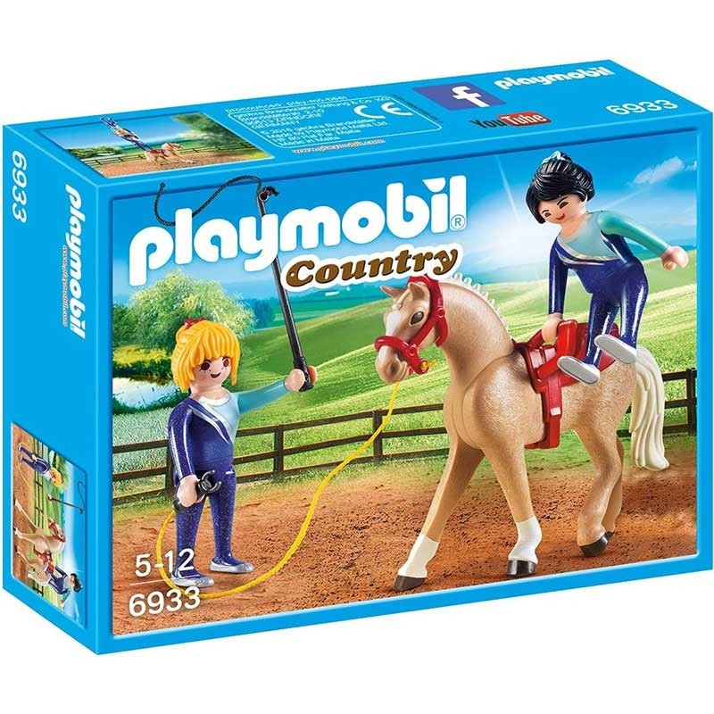 Playmobil 6933. Entrenadoras de Caballos