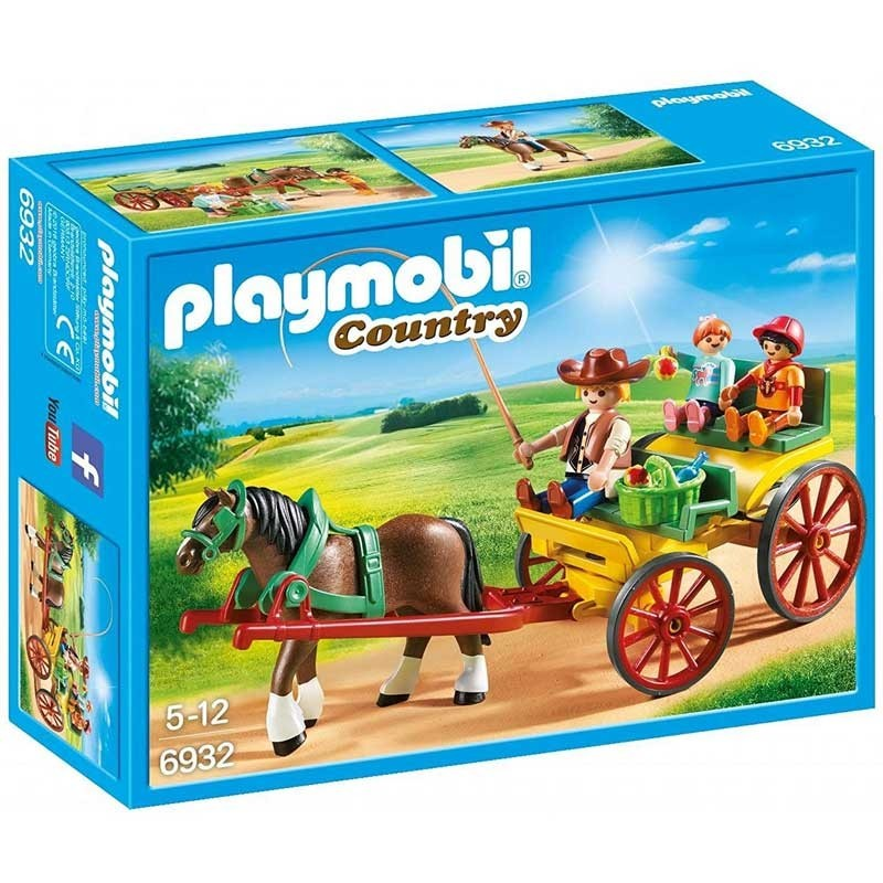 Playmobil 6932. Carruaje con Caballo