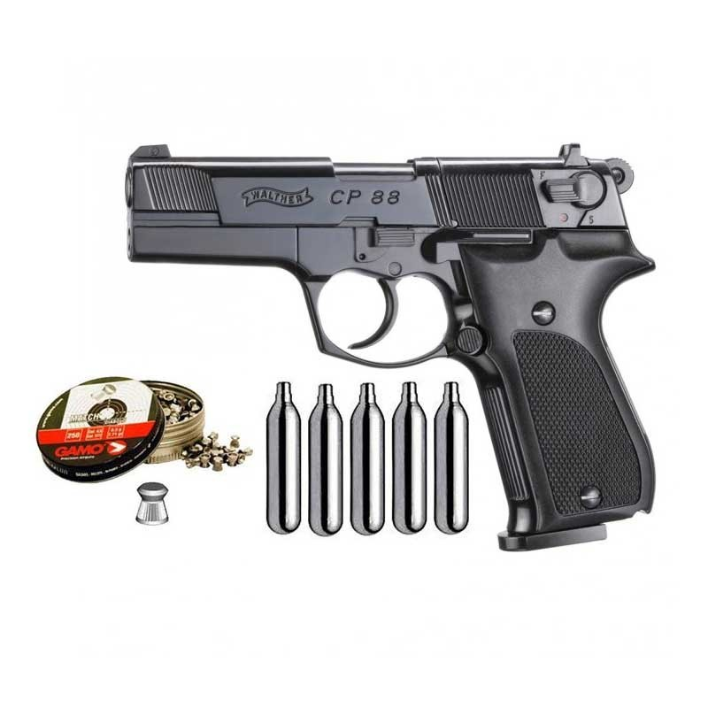 Walther 103-4160000. Pack Pistola Walther CP88 29318/38203