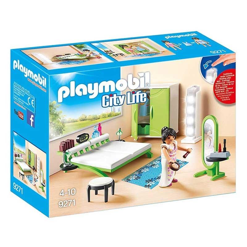 Playmobil 9271. Dormitorio Moderno