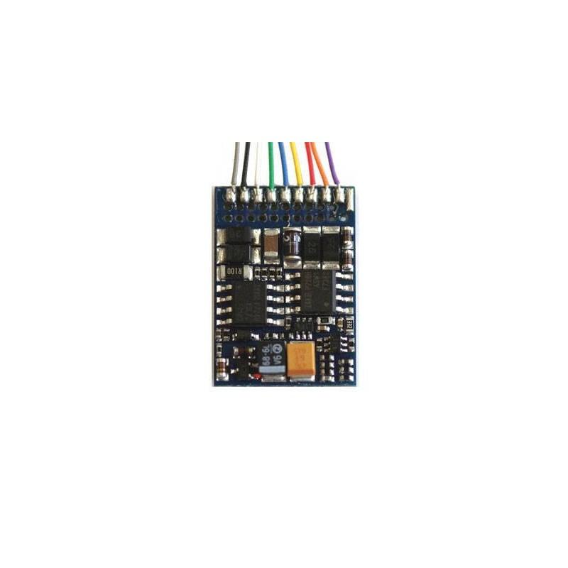 52611. ESU Decodificador LokPilot V3.0 DCC, con 8-pin NEM 652