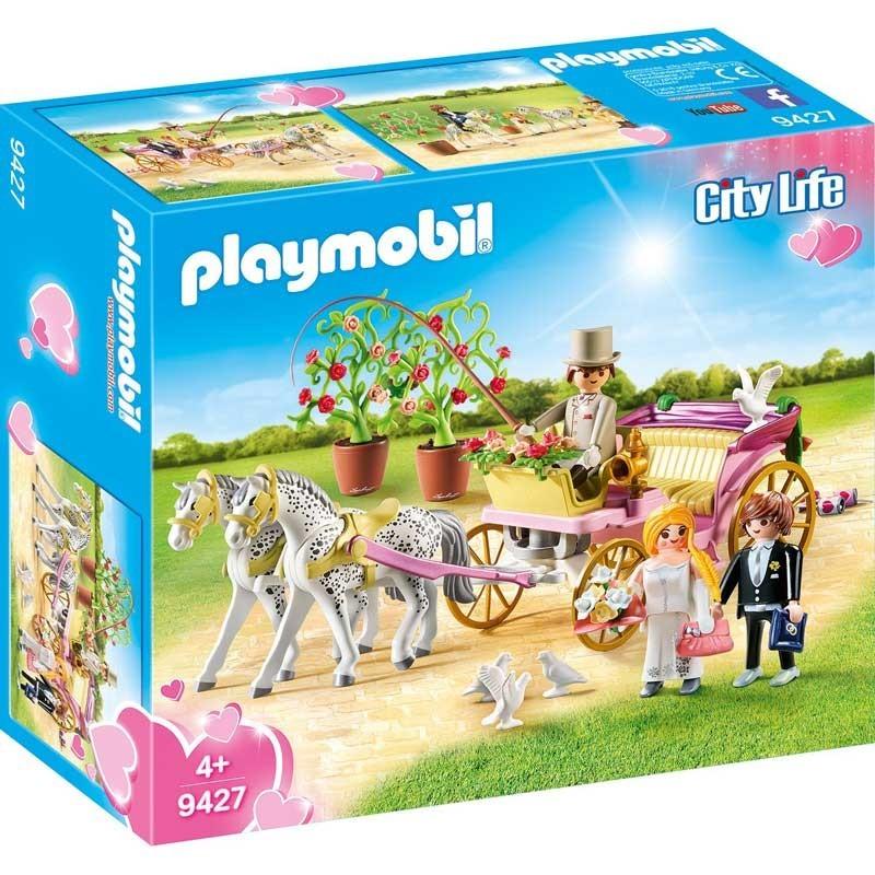 Playmobil 9427. Carruaje Nupcial