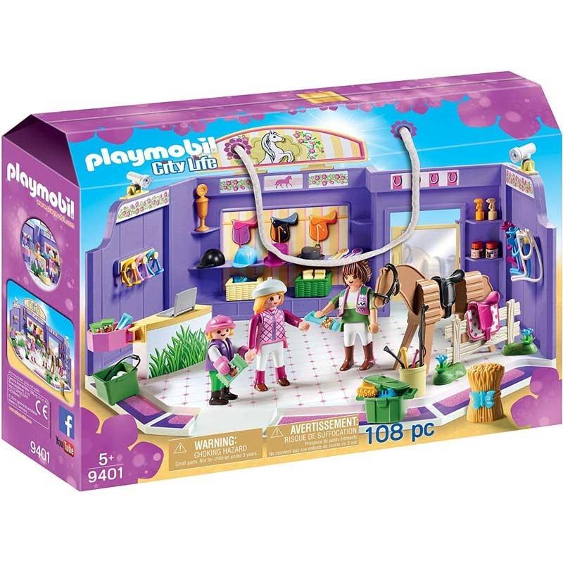 Playmobil 9401. Tienda de Equitación
