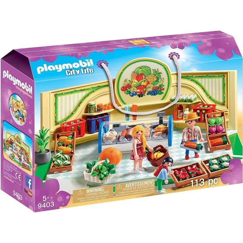 Playmobil 9403. Tienda de Frutas y Verduras