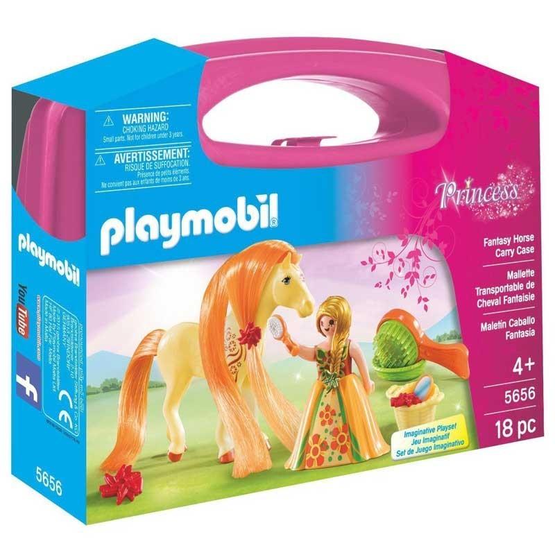 Playmobil 5656. Maletín Grande Princesa con Caballo