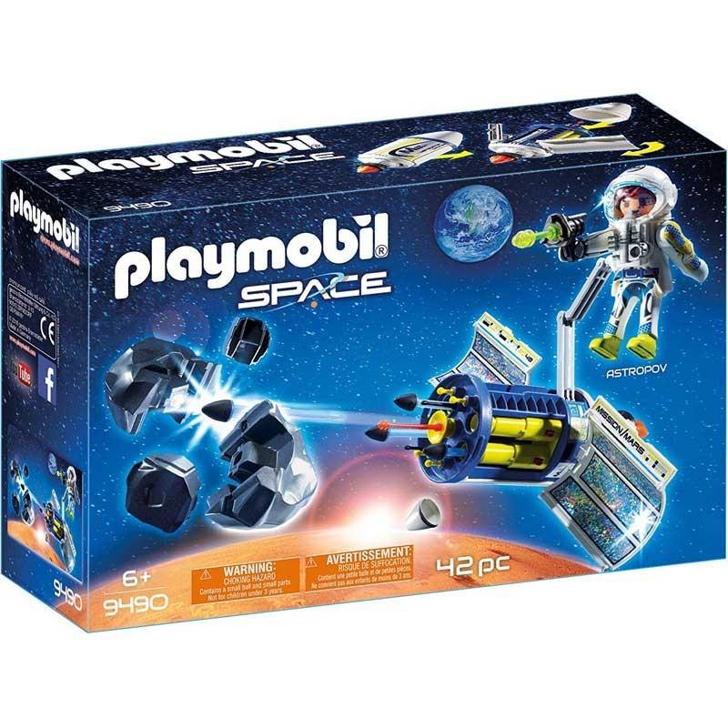 Playmobil 9490. Satélite con Láser para Meteoritos