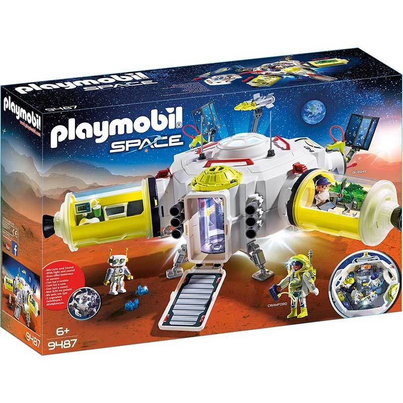 Playmobil 9487. Estación de Marte