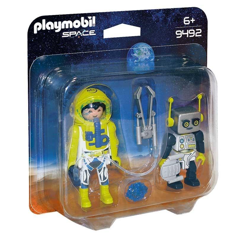 Playmobil 9492. Astronauta y Robot