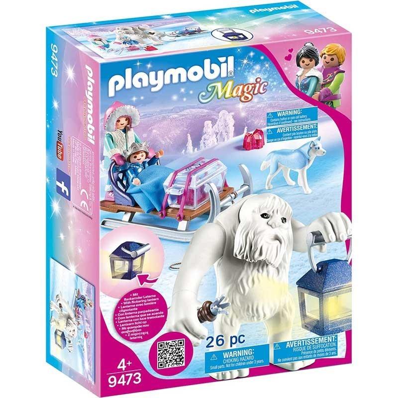 Playmobil 9473. Trol de Nieve con Trineo