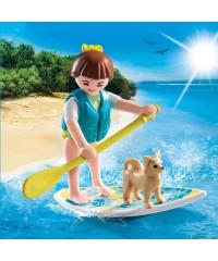 Playmobil 9354. Paddle Surf