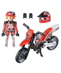 Playmobil 9357. Motorista de Motocross