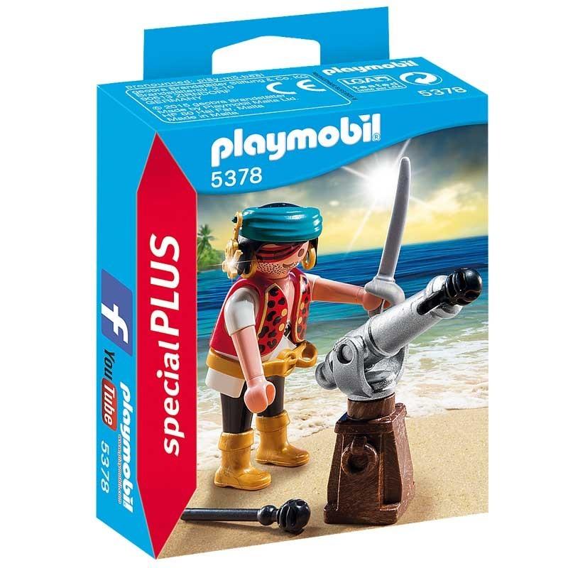 Playmobil 5378. Pirata con Cañón