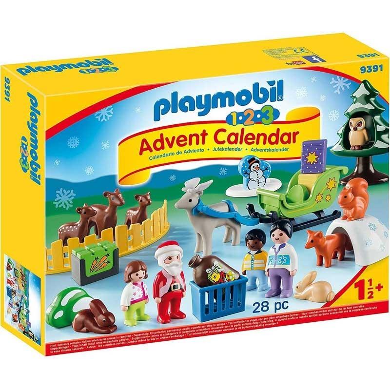 Playmobil 9391. Calendario Adviento Navidad en el Bosque