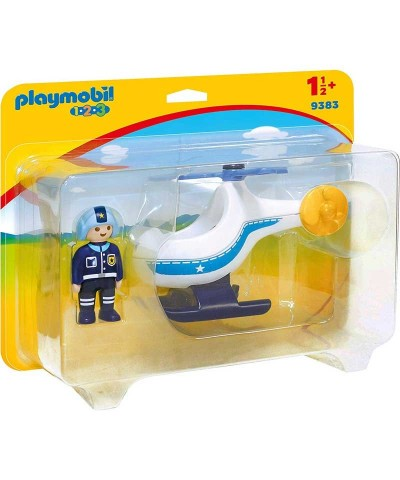 Playmobil 9383. Helicóptero de Policía