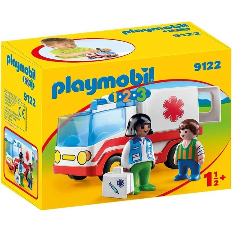 Playmobil 9122. Ambulancia