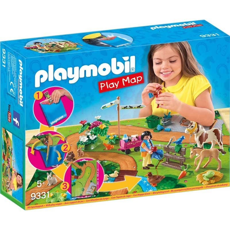 Playmobil 9331. Paseo con Ponis