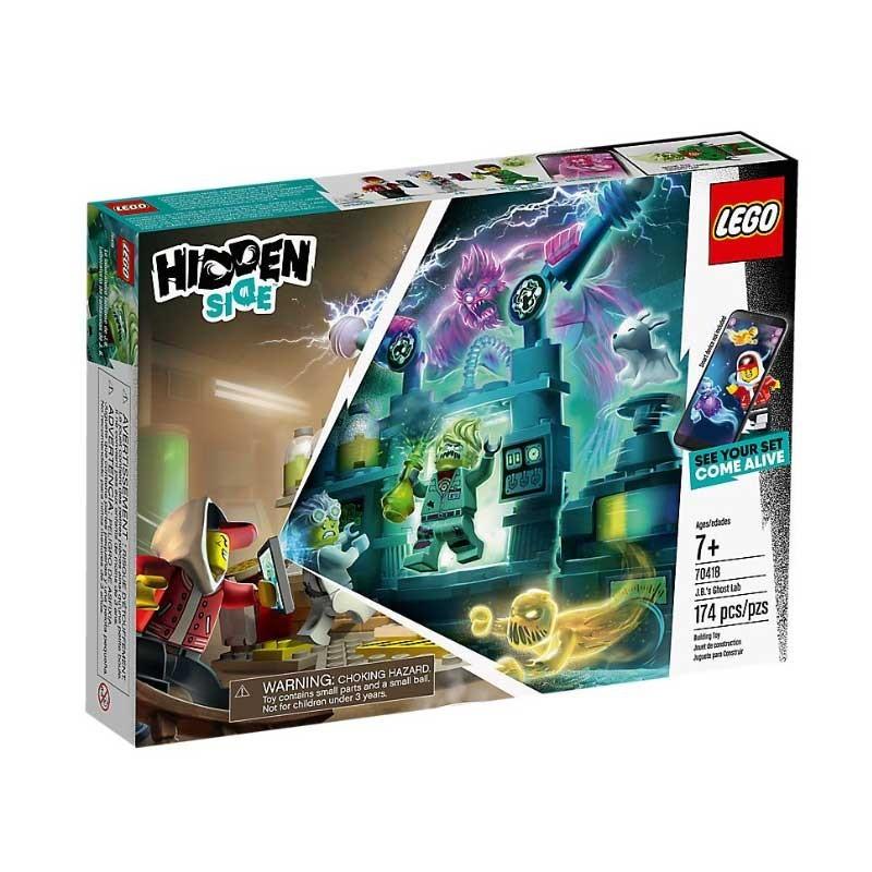 Lego 70418. Laboratorio de Fantasmas de J. B.