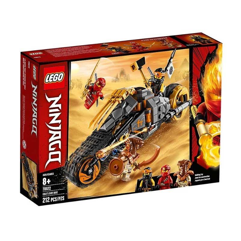 Lego 70672. Moto Todoterreno de Cole