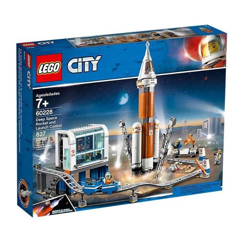 Lego 60228. Cohete Espacial y Centro de Control