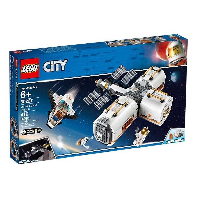 Lego 60227. Estación Espacial Lunar