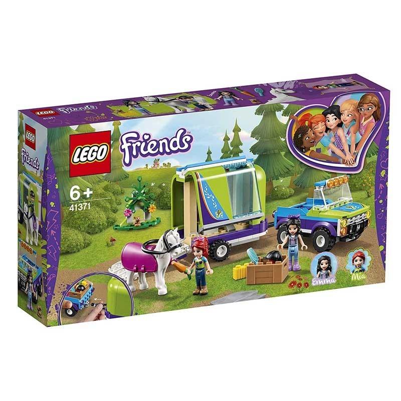 Lego 41371. Remolque del Caballo de Mia