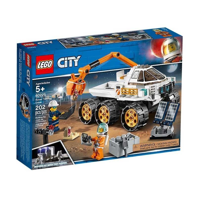 Lego 60225. Prueba de Conducción del Róver