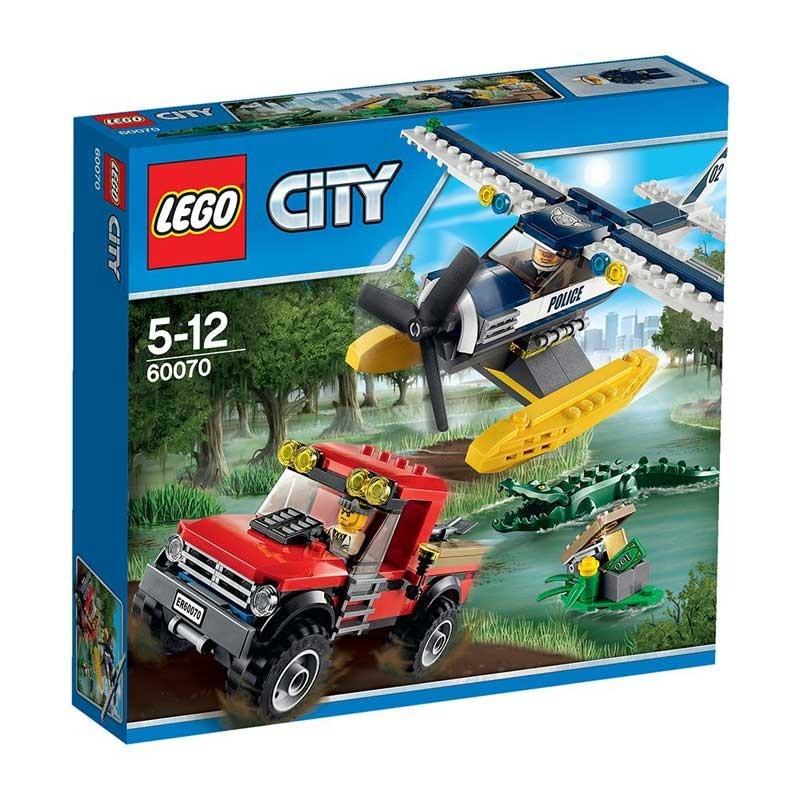Lego 60070. Hidroavión de la Policía
