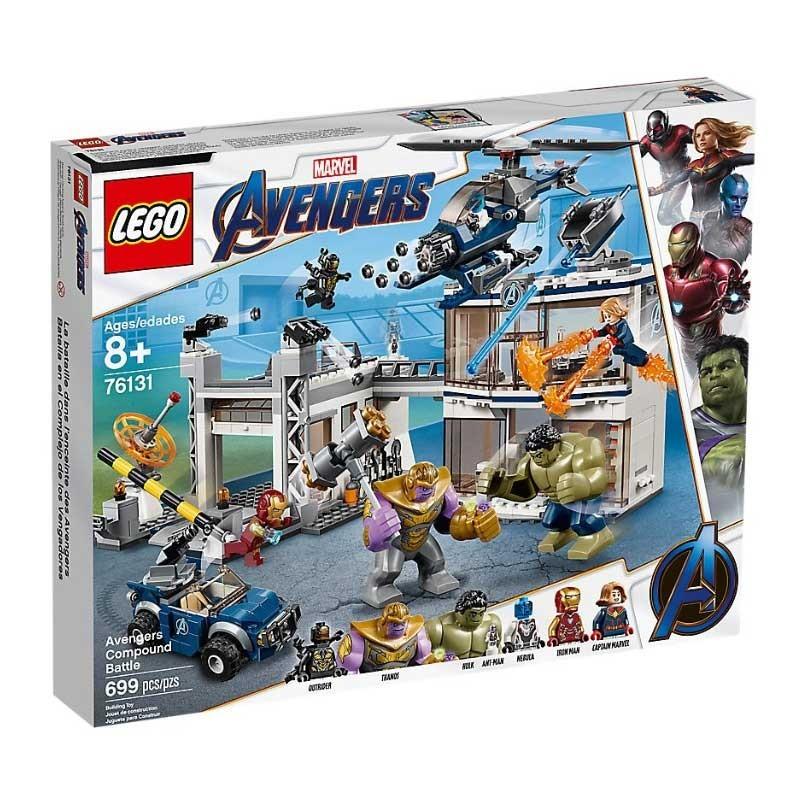 Lego 76131. Batalla en el Complejo de los Vengadores