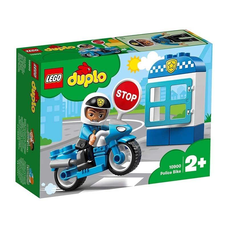 Lego 10900. Moto de Policía