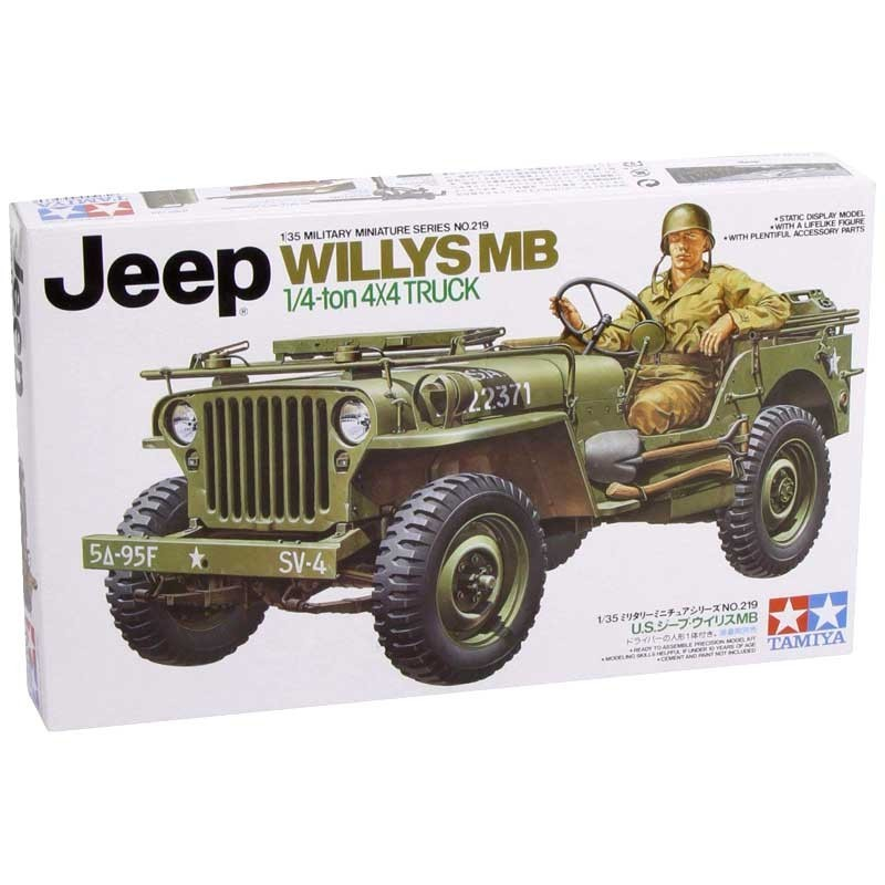 Tamiya 35219. 1/35 Jeep Willys MB