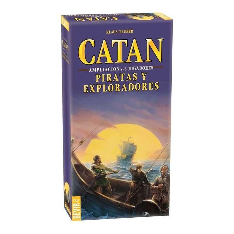 Devir BGPIR56. Piratas y Exploradores Ampliación