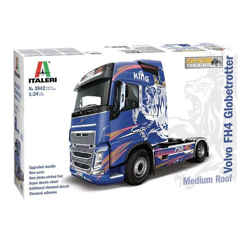 Italeri 3942. 1/24 Volvo FH4 Globetrotter
