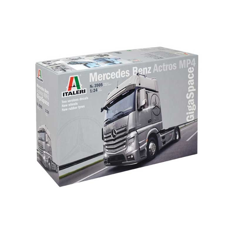 Italeri 3905. 1/24 Mercedes Actros MP4 Gigaspace