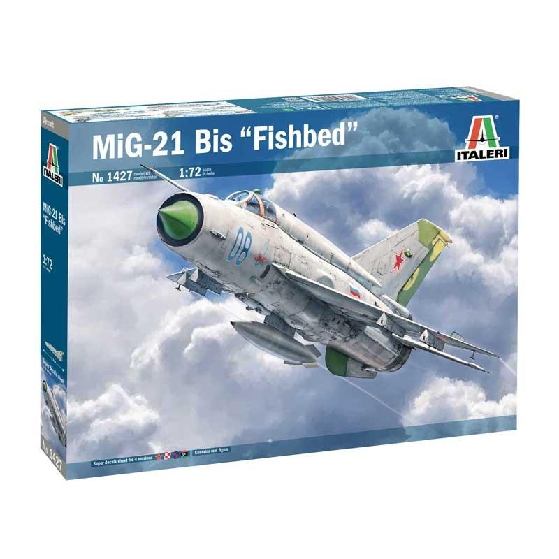 Italeri 1427. 1/72 MiG-21 Bis Fishbed