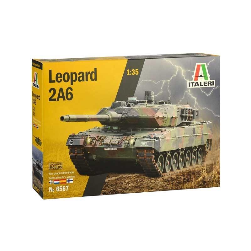 Italeri 6567. 1/35 Leopard 2A6