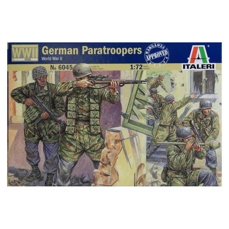 Italeri 6045. 1/72 Paracaidistas Alemanes