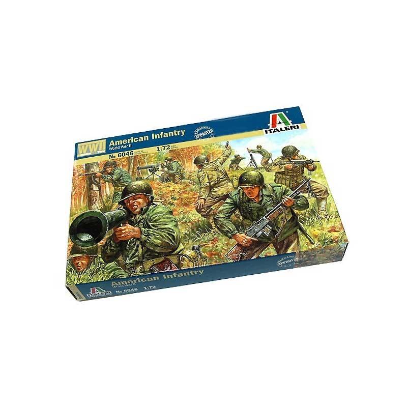 Italeri 6046. 1/72 Infantería Americana