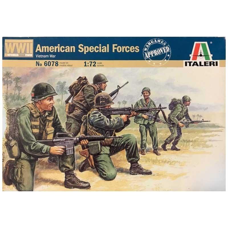 Italeri 6078. 1/72 Fuerzas Especiales EEUU