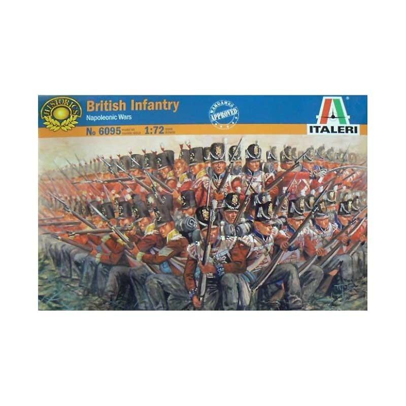 Italeri 6095. 1/72 Infantería Británica 1815