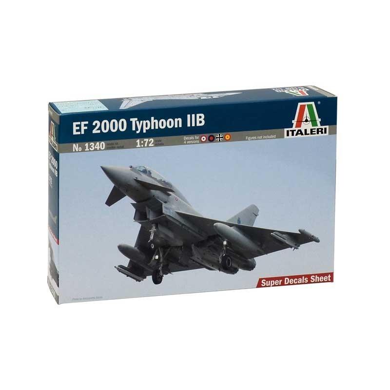 Italeri 1340. 1/72 EF 2000 Typhoon IIB