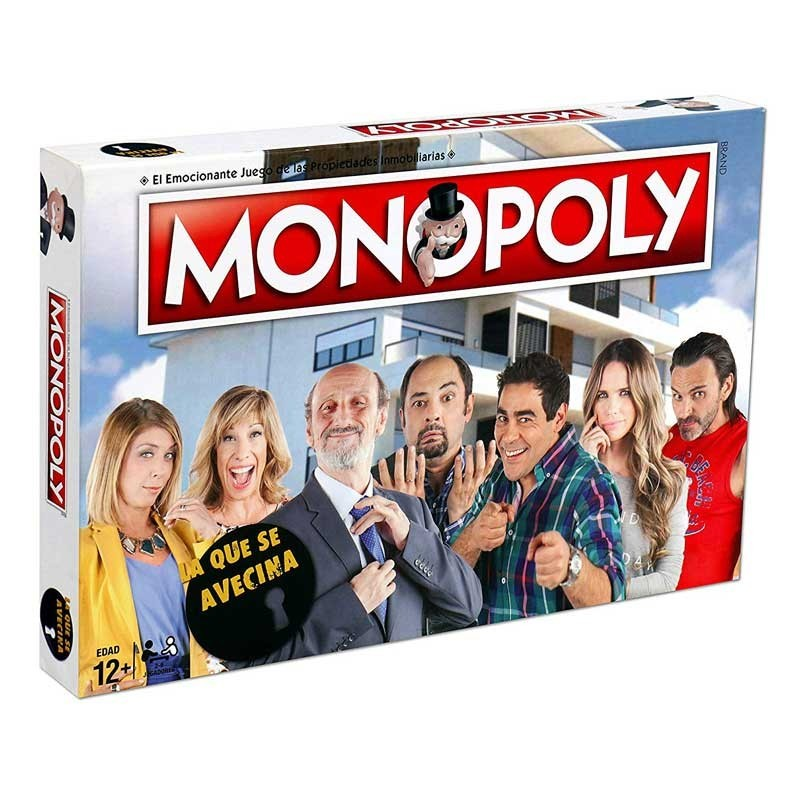 Hasbro 63454. Monopoly La Que Se Avecina