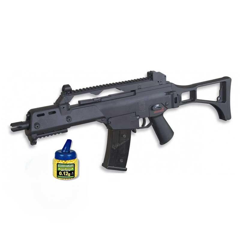 GE6681. Pack Fusil HK G36C Eléctrico 21993