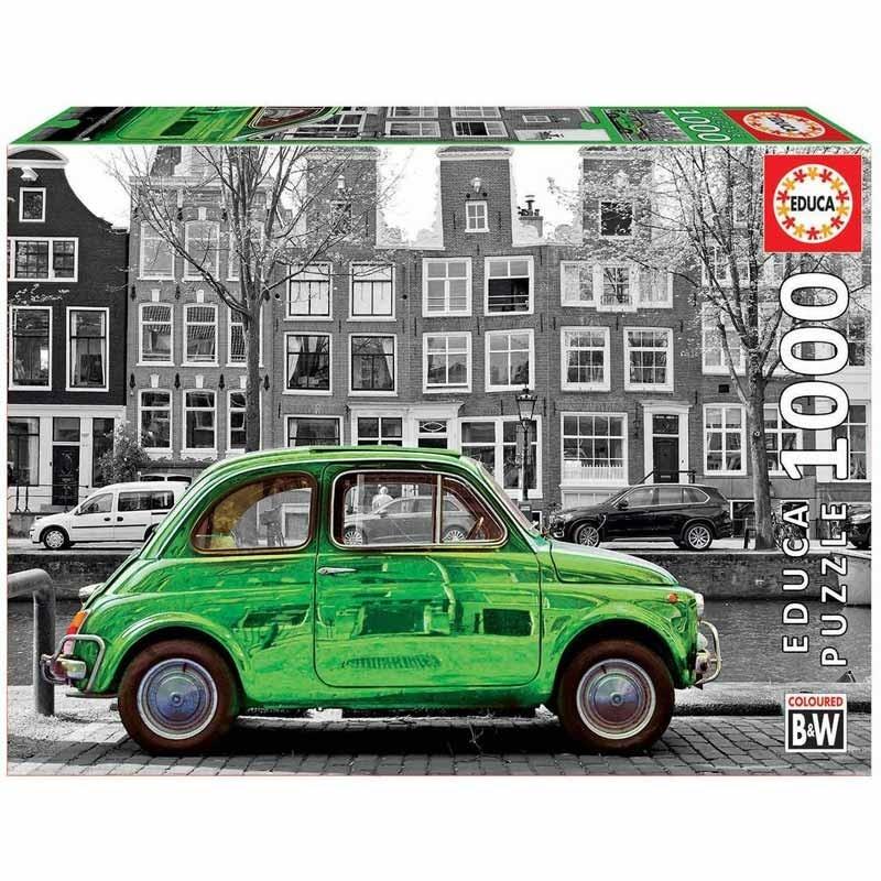 Educa 18000. Puzzle 1000 Piezas Coche en Ámsterdam