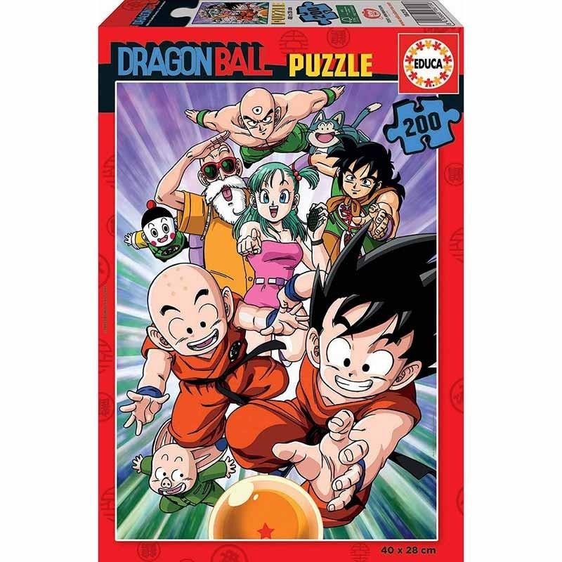 Educa 18215. Puzzle 200 Piezas Dragon Ball