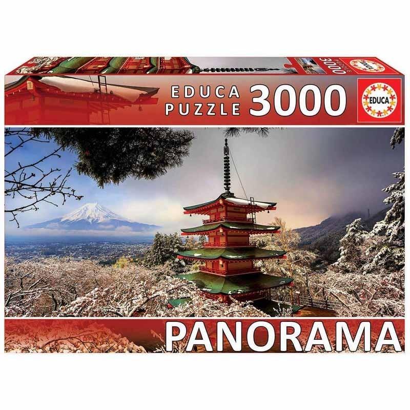 Educa 18013. Puzzle 3000 Piezas Monte Fuji Panorama