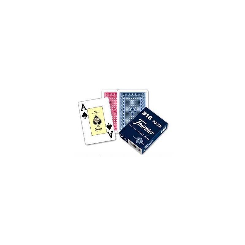 21643. Baraja naipes Poker 55 cartas Fournier 818