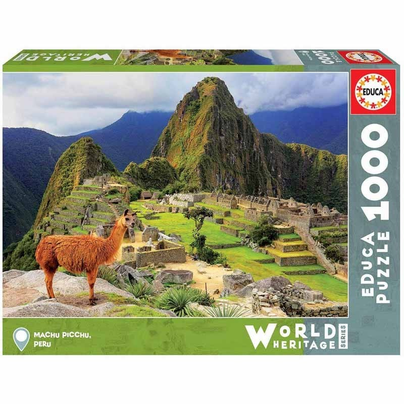Educa 17999. Puzzle 1000 Piezas Machu Picchu