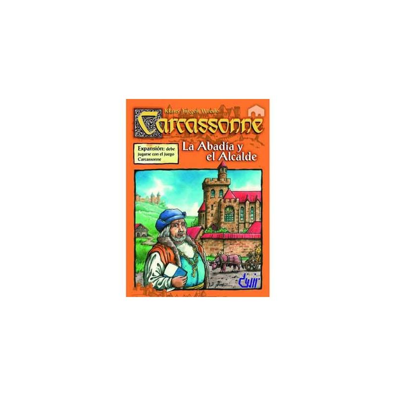 BGABA. Juego de mesa Carcassonne: La Abadia y El Alcalde, Devir