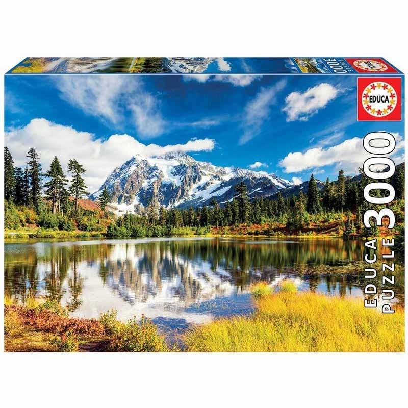 Educa 18011. Puzzle 3000 Piezas Monte Shuksan